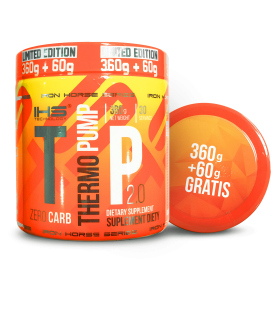 Iron Horse Thermo Pump 360g + 60g Free