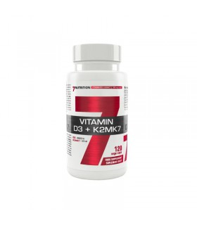 7Nutrition Vitamin D3 + K2MK7 120 caps.